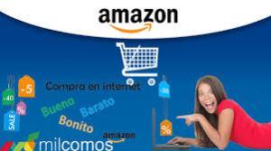 Haz tus compras en Amazon